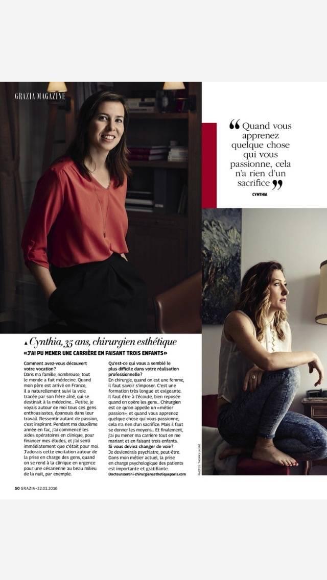 Chirurgien esthétique femme à Grenoble – Rhône Alpes   Dr Cynthia Hamou -